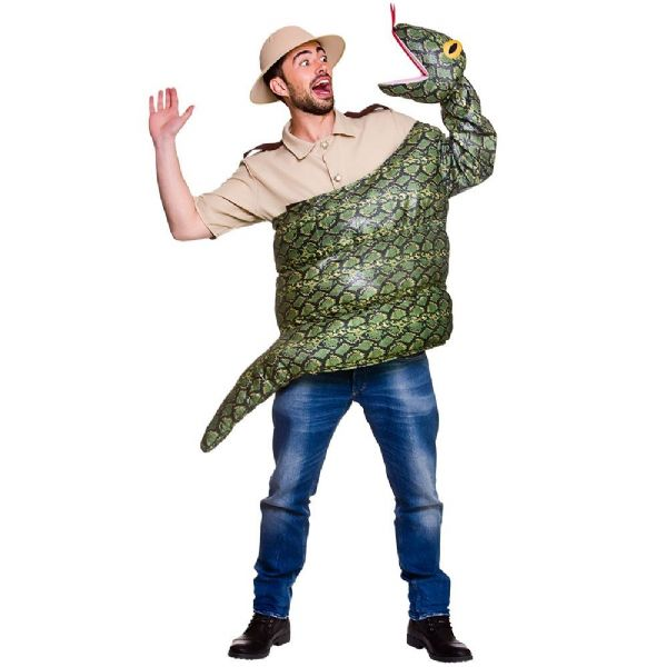 Adults Adult Snake Costume Unisex Fancy Dress
